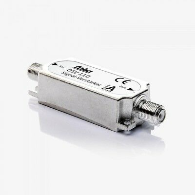Fuba OSV 110 Inline TV-Signal-/Sat-Verstärker | 16-20 dB Verstärkung, 47-2300MHz