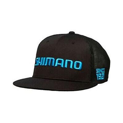 02e06ea997c2 Shimano Flatbill Hat Black M/L