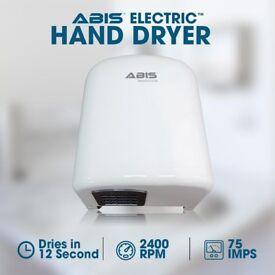ABIS Express Hand Dryer, Fast Drying, Eco Friendly Hand Dryer, Bar, Bathrooms, Schools, Restaurants