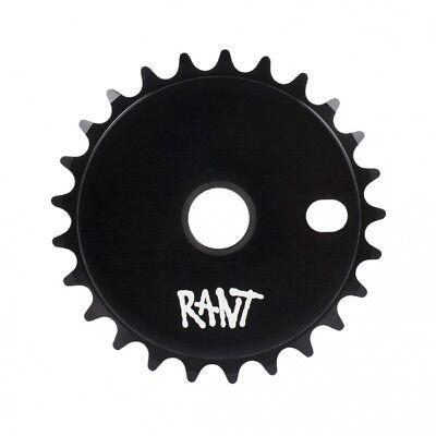 25t w// extra decals Black Odyssey Discogram BMX Sprocket Chainwheel