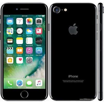 APPLE IPHONE 7 128GB JET PRETO, GLOSS BLACK, GARANTIA, AB AB 12 MESES GARANTIA
