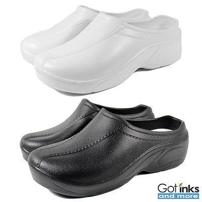 Women's Medical Nursing Ultralite Non-Slip Strapless Clogs Light Shoes NEW