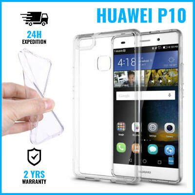 Transparent Cas Gel Clear Case Cover Etui Coque Silicone TPU For Huawei P10