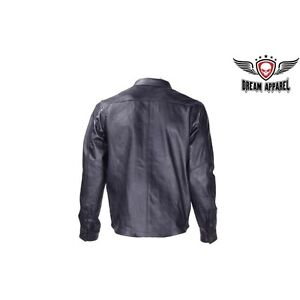 Mens Leather Shirt for Summer Riding Edmonton Edmonton Area image 3