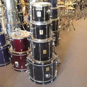Sonor Force 3000 drum kit 12-13-16-22 black/noir - used/usagé