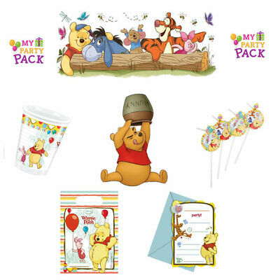 Y SUPPLIES BABY TIGGER EEYORE PIGLET CHRISTENING! BIRTHDAY! (Pooh Party Supplies)
