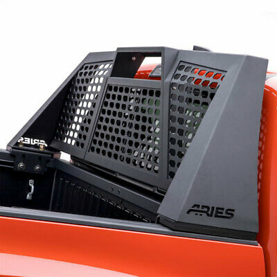 Aries Switchback Headache Rack AL Carbide BLK for Ram 1500/2500/3500 09-20 CC