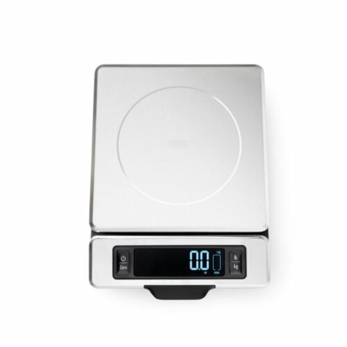 OXO Good Grips 11 Pound Stainless Steel Food Scale with Pull