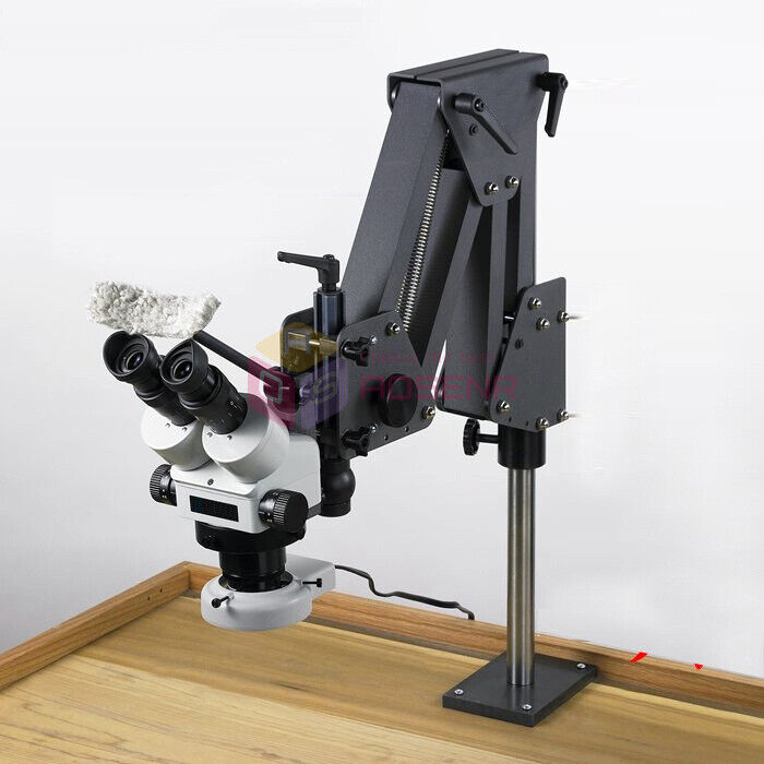 Microscope Stand Multi-directional Jewelry Inlaid Stand for Micro-setting Tools