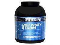 Titan Diet Whey Storm 2.25kg | Diet Whey Protein