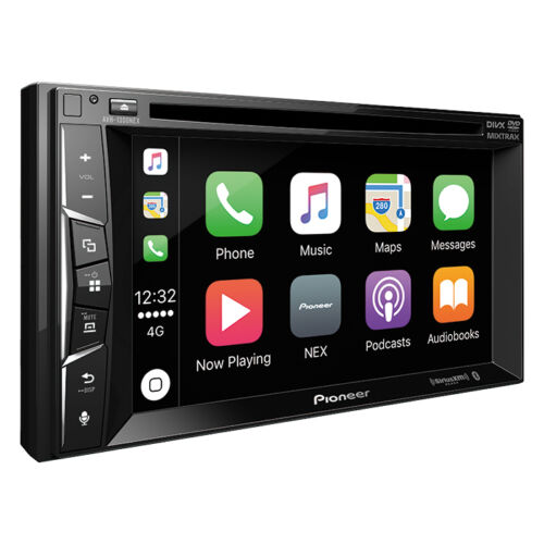 Pioneer AVH-1300NEX RB Double DIN DVD/CD Player Bluetooth Mirrors iPhone CarPlay