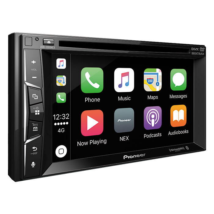 Pioneer AVH-1300NEX Double 2 DIN DVD/CD Player Bluetooth Mirrors iPhone CarPlay