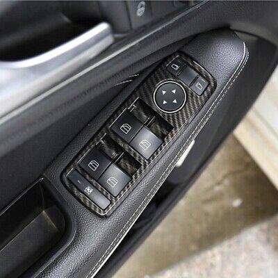 Mercedes Benz Fensterheber Blende Abdeckung Rahmen Carbon  A B C E ML CLA CLS GL