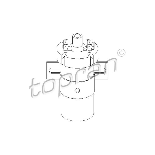 TOPRAN Ignition Coil 103 240