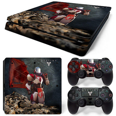 Ps4 Slim Playstation 4 Console Skin Decal Sticker Destiny   2 Controller Design