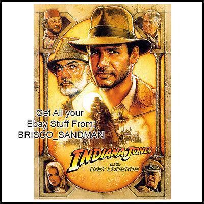 Fridge Fun Refrigerator Magnet Indiana Jones  Movie Poster D  Harrison Ford