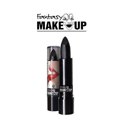Lippenstift, schwarz Make Up Schminke