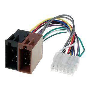 PIONEER Adapter Radio Anschluss Kabel für Auto Radios 12 polig ISO Stecker
