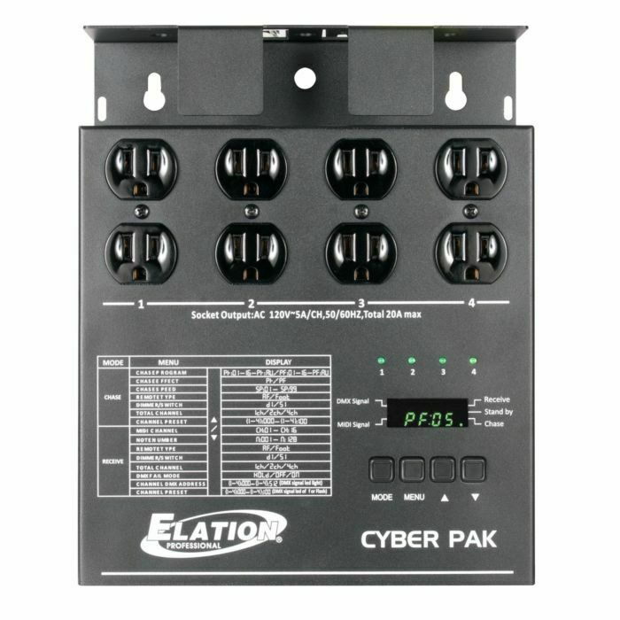 Elation CYBER-PACK 4-Channel Dimmer or Relay Pack
