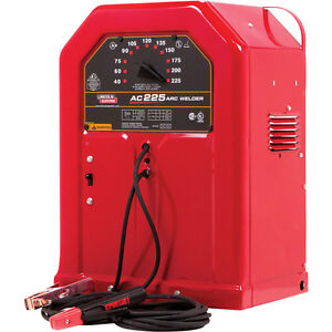 Lincoln Electric AC-225 Stick Welder -low hours-with auto helmet