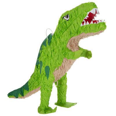 Green Dinosaur Tyrannosaurus Rex Pinata Birthday Party Decoration Party Supplies (Dinosaur Piñata)