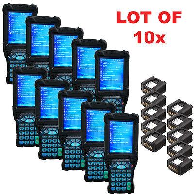 Lot 10x Symbol Motorola Mc9090-su0hjafa6wr Wireless 1d Laser Barcode Scanner