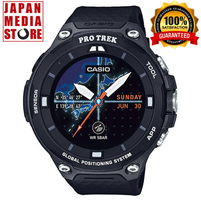 Casio Protrek Wsd-f20-bk Smart Outdoor Watch With GPS ...