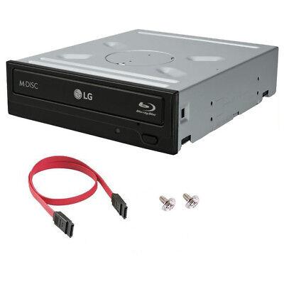 LG WH14NS40 14X Internal Blu-ray DVD CD M-Disc Burner Re-Writer Drive SATA Cable - $65.00