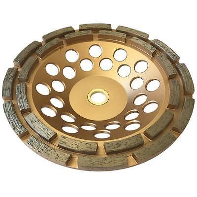 7 Concrete Grinding Cup Wheels 24 Diamond Abrasive Seg 78-58 Double Row