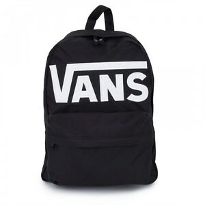 ... Backpack-Old-Skool-II-Black-White-Skate-Board-Surf-Bmx-Fmx-School-Bag