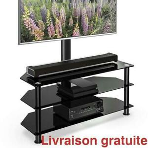 Meuble TV pivotant / Swivel Floor TV Stand for 32 to 65 Inch