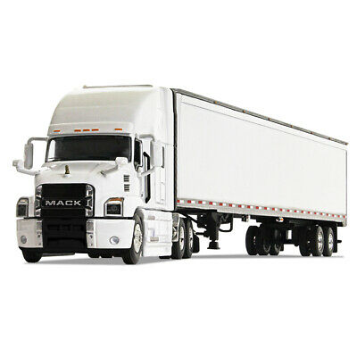 2020 First Gear DCP 1:64 WHITE Freightliner 2018 Cascadia w/53' Dry Good Trailer