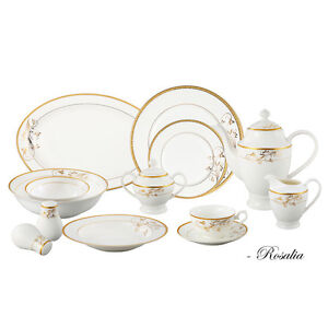brand new in Box! 57 piece elegant bone china Cambridge Kitchener Area image 1