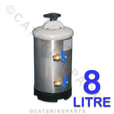 LT08 8 LITRE DVA MANUAL SALT RE-GENERATION TYPE WATER SOFTENER FILTER 8L