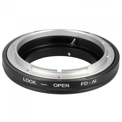 Fd-Ai Lente Anillo Adaptador Canon Fd Para Todos Nikon Ai Montaje de...