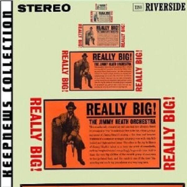 JIMMY ORCHESTRA HEATH - REALLY BIG (KEEPNEWS COLLECTION)  CD NEU