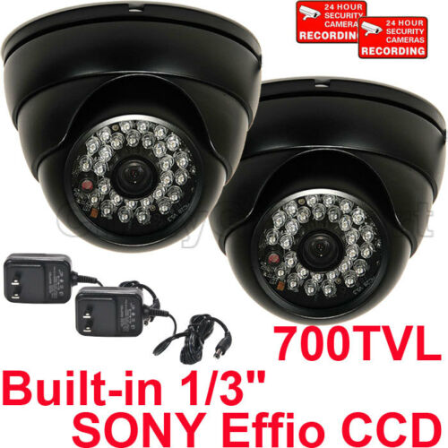 "Outdoor Security Camera IR Day Night 700TVL 42 LEDs with 1//3/"" Sony Effio CCD btz"