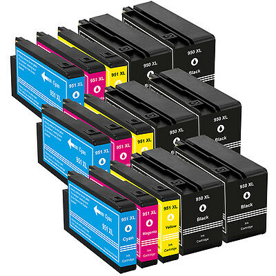 Tinten Patronen für HP OfficeJet Pro 251 8600 8610 8615 8620 8625 8630 8640 8660