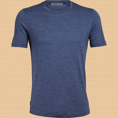 New w/ Tags! Men's Icebreaker Merino Cool Lite Sphere SS Crew Shirt - Medium