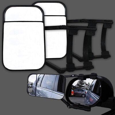 Universal Wohnwagenspiegel Anhängerspiegel Caravanspiegel Spiegel PKW 2 Stück