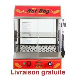 Machine a hot-dogs / BULLSEYE HOT DOG STEAMER