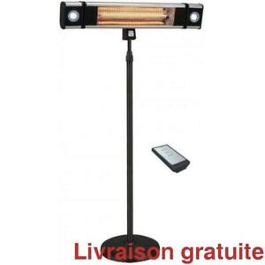 Chauffe terrasse / Electric infrared Heater 1500 watts,