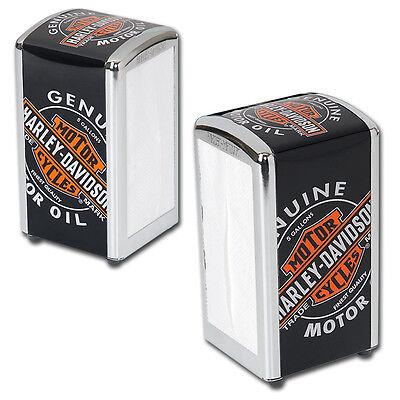 Harley-Davidson® Genuine Oil Can Vintage Napkin Dispenser