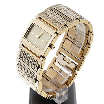 - DKNY watch NY4546 Gold Bracelet Glitz with Crystals Women's
