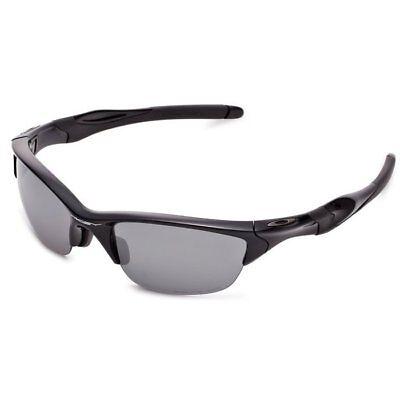Oakley OO9153-1 Half Jacket Sunglasses Black Frame and Black Iridium Lenses