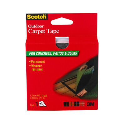 Scotch Ct3010 Outdoor Carpet Tape For Concrete Patios Decks 1-38 X 40