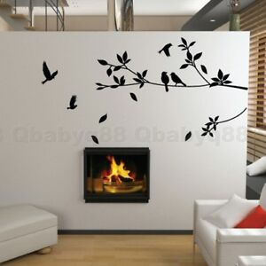 Bird-Tree-Branch-Wall-Stickers-DIY-Art-Home-Family-Decals-Kids-Nursery-Decor