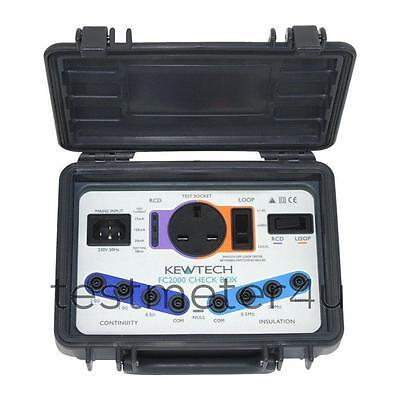 Kewtech FC2000 Calibration Check Box