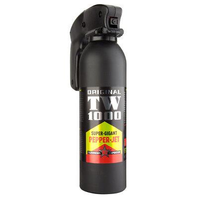 TW1000 Pfefferspray Super Giant Professional 400 ml Pepper JET Strahl Tierabwehr