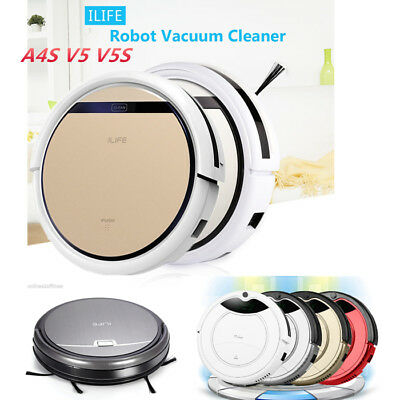 ILIFE A4S V5 V5S Robotic Vacuum Cleaner Cordless Dry/Wet Floor Sweeping Cleaning